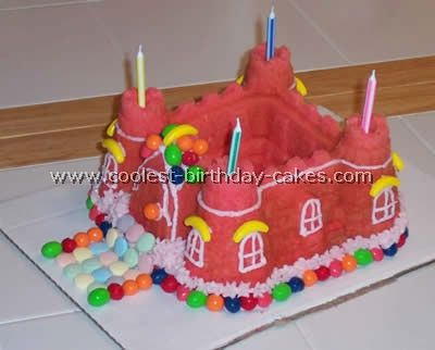 Coolest Castle Cake Ideas Pan form Cake and Homemade birthday cakes
