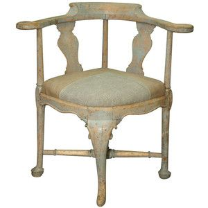 Rococco Swedish Corner Chair