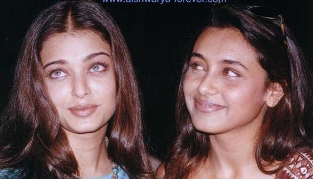 With Rani Mukherjee Rare Photos Aishwarya Rai Bachchan Aishwarya Rai