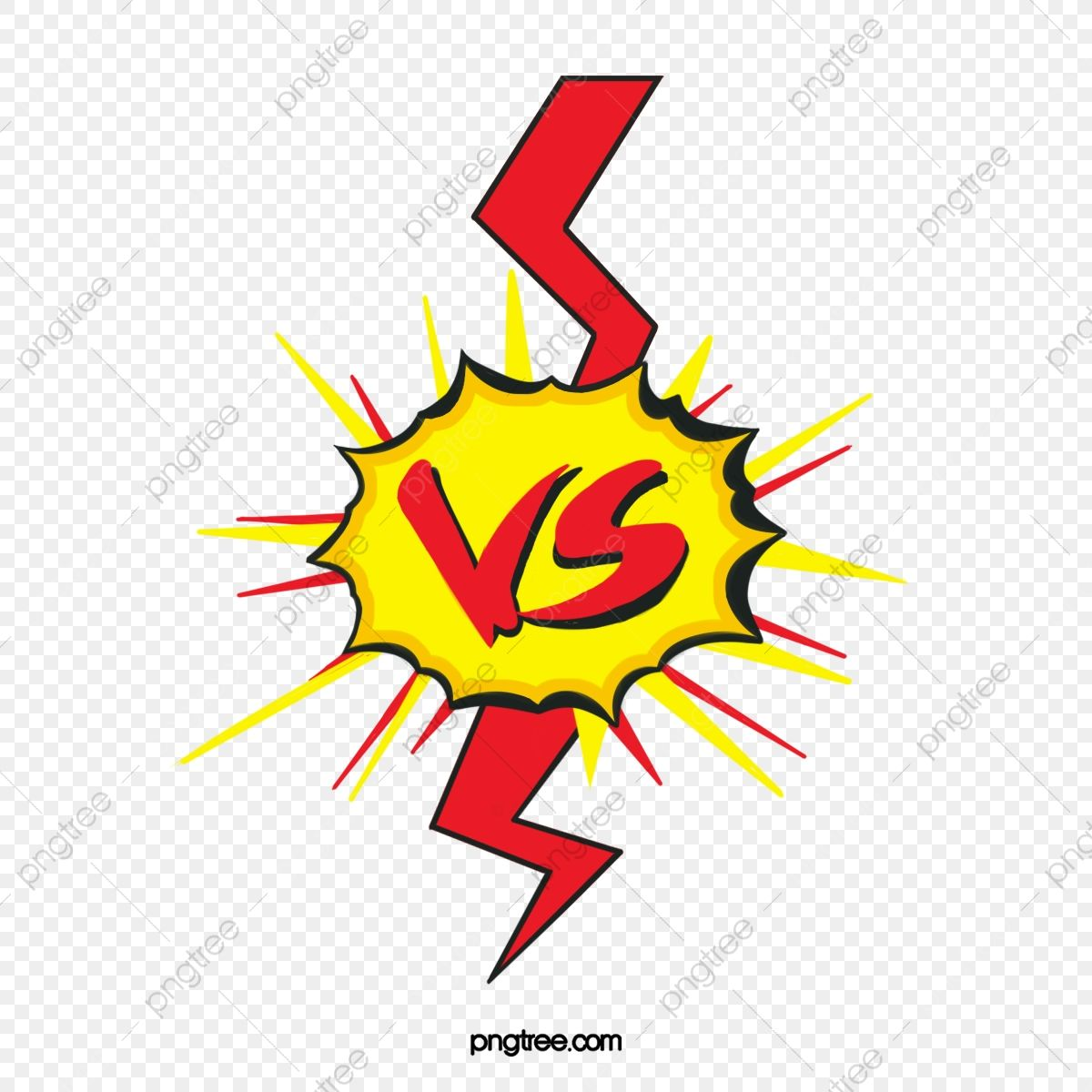 Vs Explosion Comic Competition Art Design Creative Png Transparent Clipart Image And Psd File For Free Download Clipart Images Clip Art Cartoon Illustration