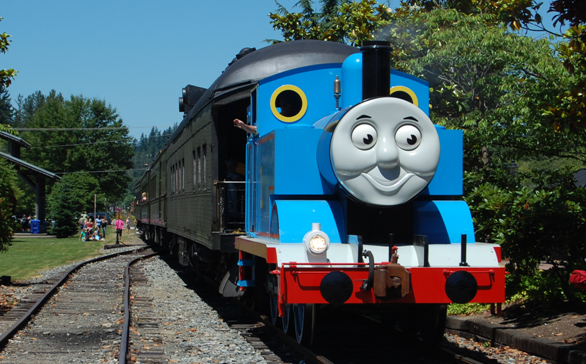 Everyone's favorite train is rolling into town! A ticket for Day Out With Thomas includes a 25-minute train ride with Thomas the Tank Engine, as well as a variety of Thomas  Friends themed entertainment including storytelling and video viewing,…