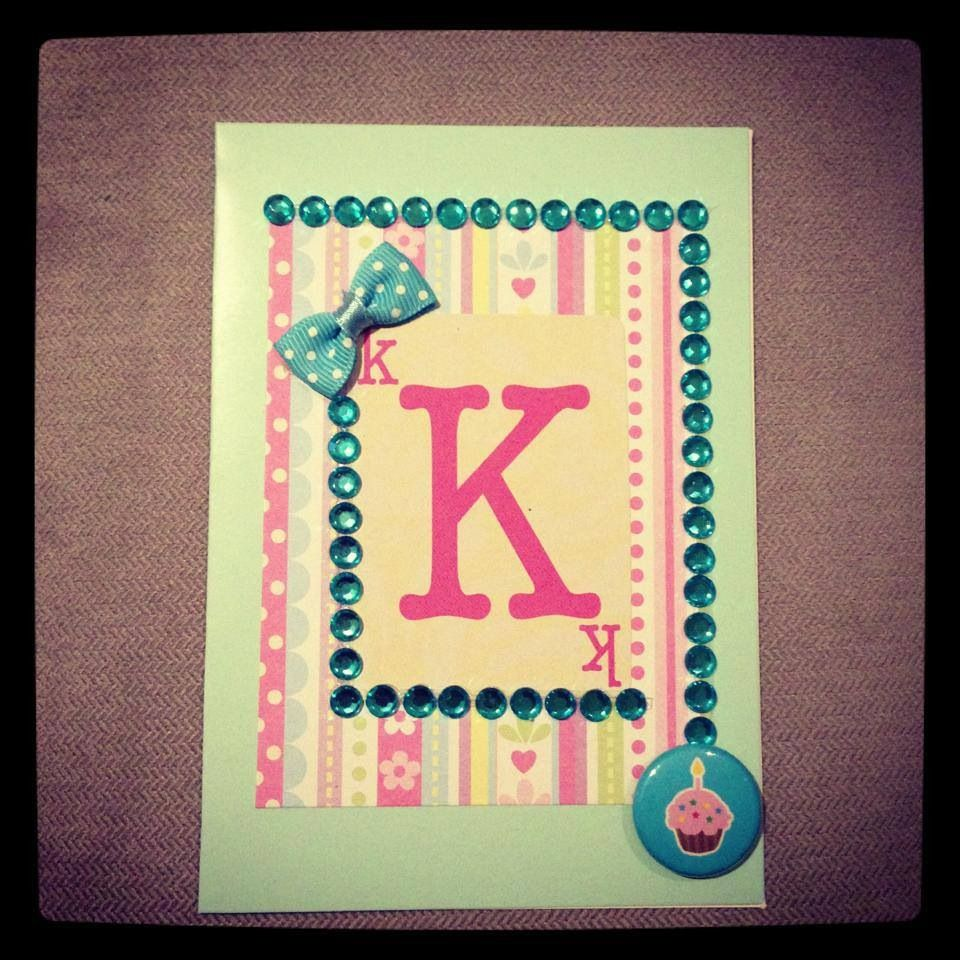 Personalized handmade birthday card cards pinterest