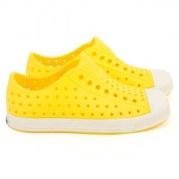 b12cf3c5b0726 Native Jefferson Crayon Yellow shoes from alexandalexa. Light. Stylish. Bye  bye ugly Crocs!