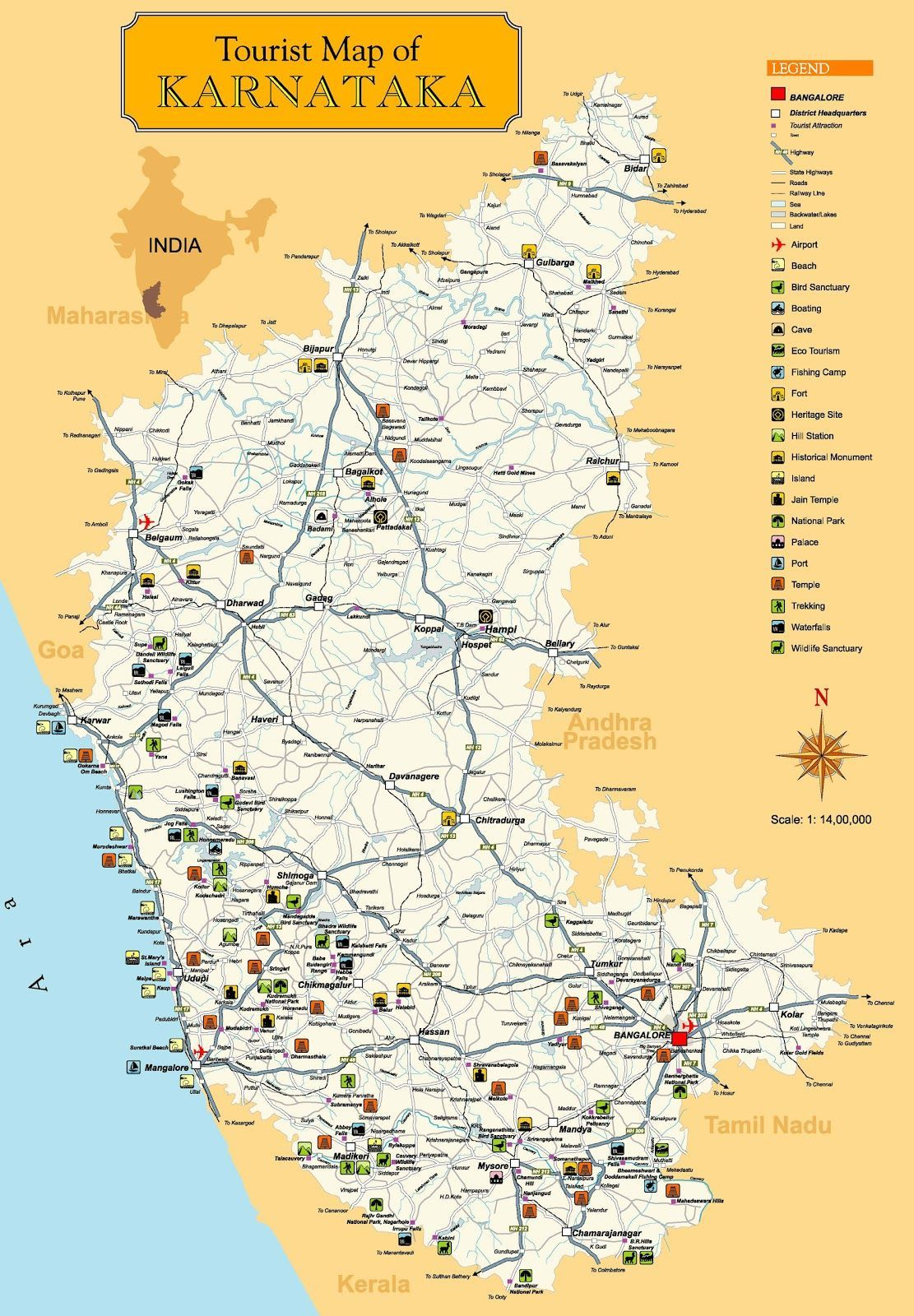 karnataka tourist maps - Google Search in 2020 | Tourist map ... on map of delhi, map of rajasthan, map of haryana, map of bangalore, map of kashmir, map of mysore, map of yunnan province, map of hubei province, map of gujarat, map of andhra pradesh, map of orissa, map of nunatsiavut, map of mumbai, map of uttar pradesh, map of maharashtra, map of arunachal pradesh, map of india, map of west bengal, map of kerala, map of madhya pradesh,