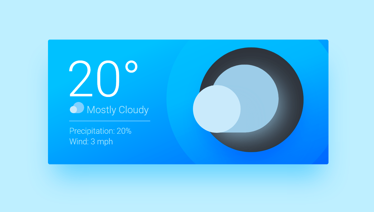 10 Css Weather Widgets Weather Cards Widget Design Widget