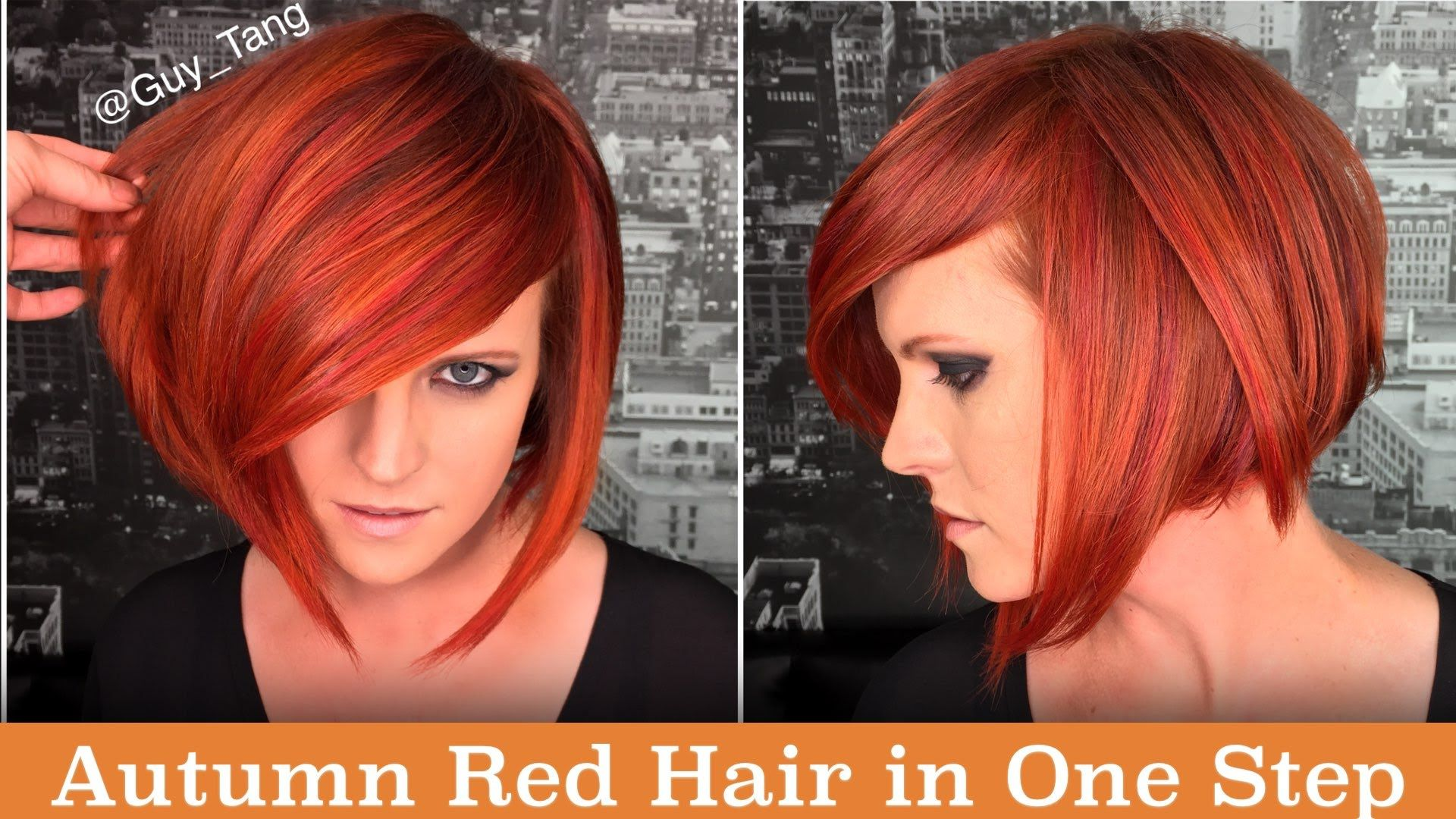 Autumn red hair in one step my style pinterest red hair hair