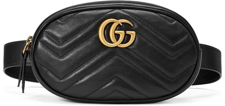 affiliatead -- GG Marmont matelassé leather belt bag --  chic only   glamour always b058d87d208