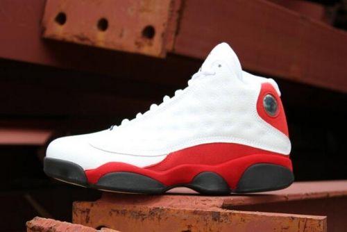 wholesale dealer 53583 b7a42 Air Jordan 13 OG Chicago White Black-Team Red 414571-122 Cheap Sale