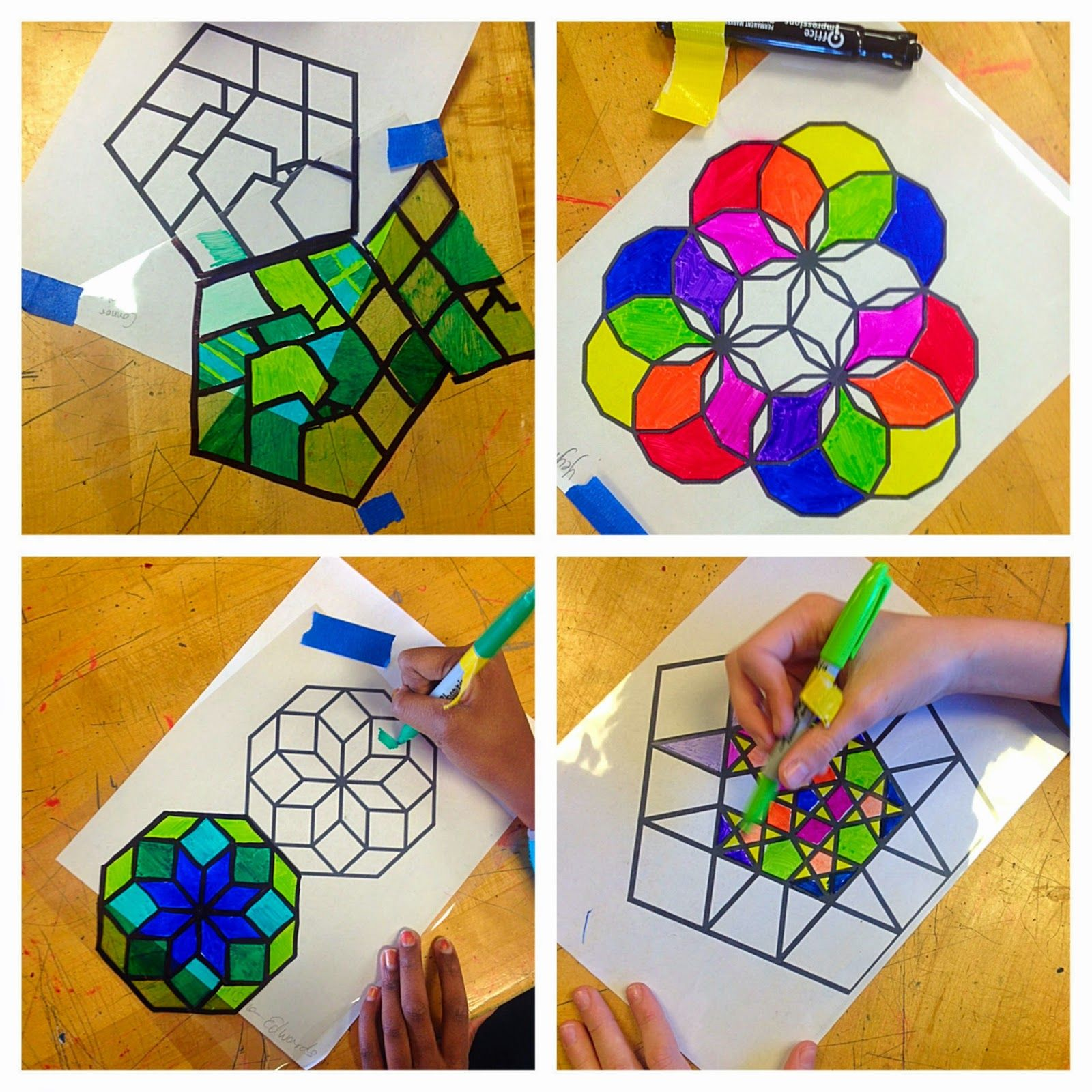 Lesson Plan: Islamic Stained Glass Windows ~ Artful Artsy