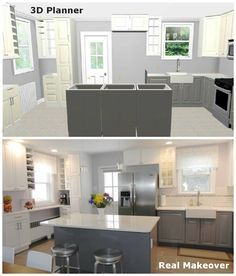 My Real Dream Kitchen Before After Ikea Kitchen Remodel