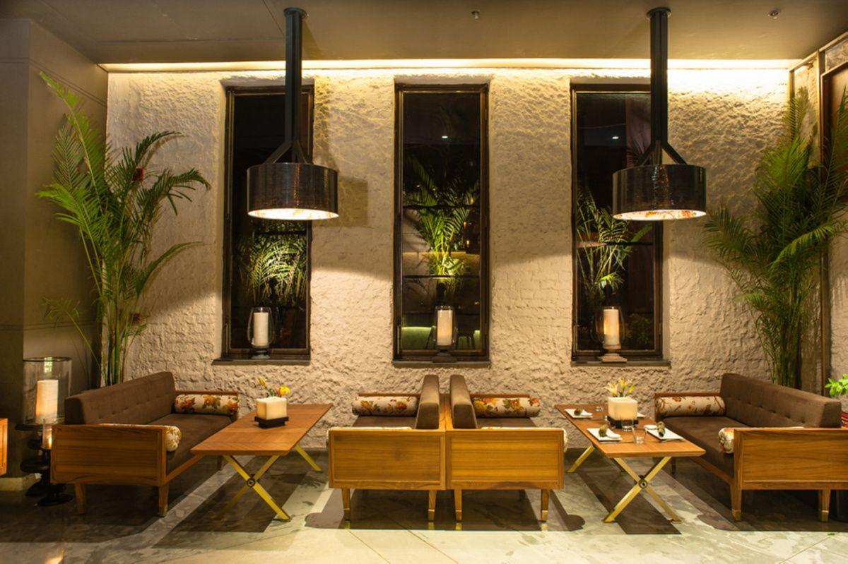 Fio Cookhouse & Bar, New Delhi, India | Wall design, Cafe ...