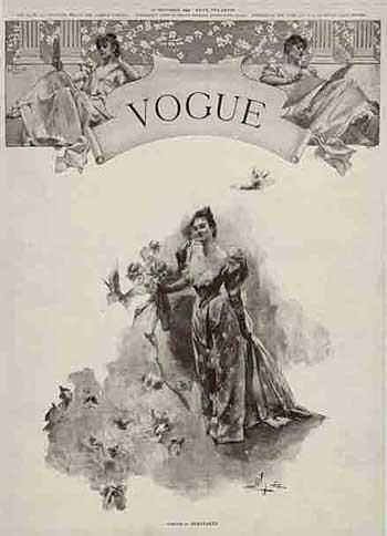 Vogue's very first issue was published 120 years ago, December, 1892. It was founded by Arthur Baldwin Turnure and has started as a weekly publication for New York elite.