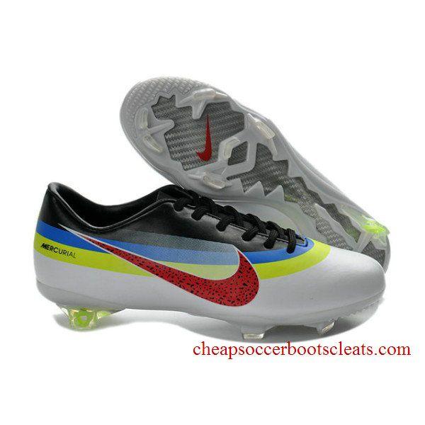 buy 2013 new cr exclusive nike mercurials nike mercurial vapor ix cr white black red football boots