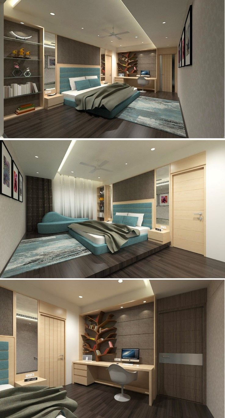 Lavish apartment interiors neotecture the architects diary also studio bedroom design interior in rh pinterest