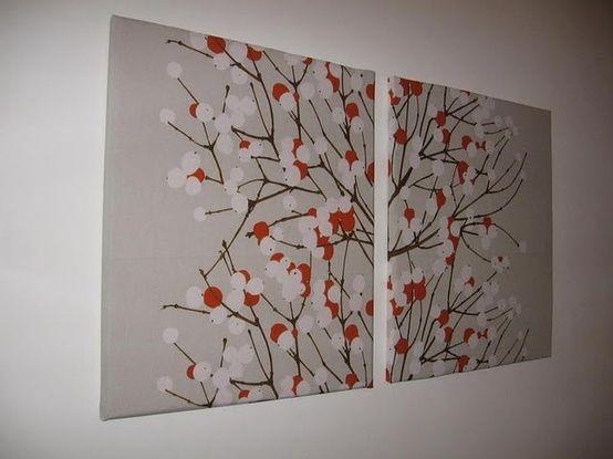 Pintura en canvas