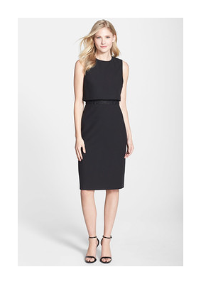 Vince Camuto Lace Inset Crepe Popover Dress - was $138.0, now $54.97 (60% Off). Picked by Marij @ Nordstrom Rack
