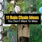 11 Rain Chain Ideas – Tutorials You Don't Want To Miss