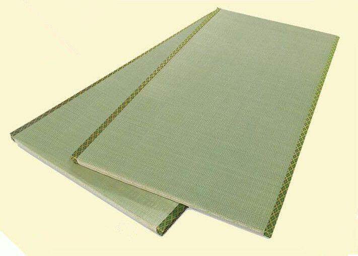Japanese Tatami Mat Thick Woven Rush Mats With Brocade Trim Sleeping Mat  Flooring Judo Mattress
