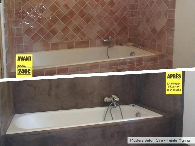 peindre carrelage salle de bain avant