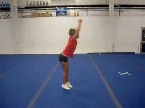 jump sequence for tryouts  youtube  cheer tryouts cheer