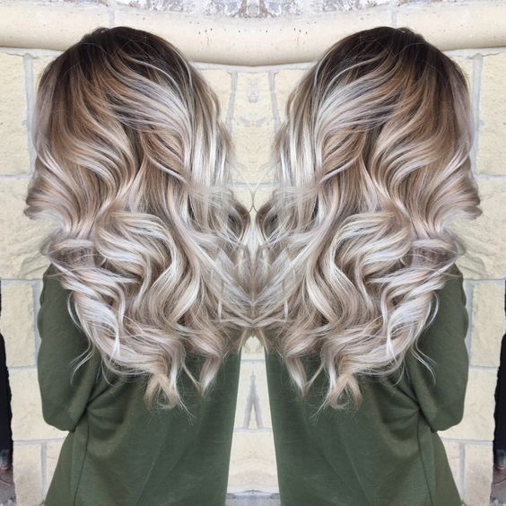 55 Beautiful Blonde Balayage Hair Color Ideas To Copy Easily Icy
