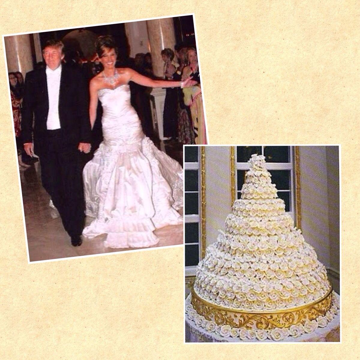 donald trump wedding cake ideas and designs