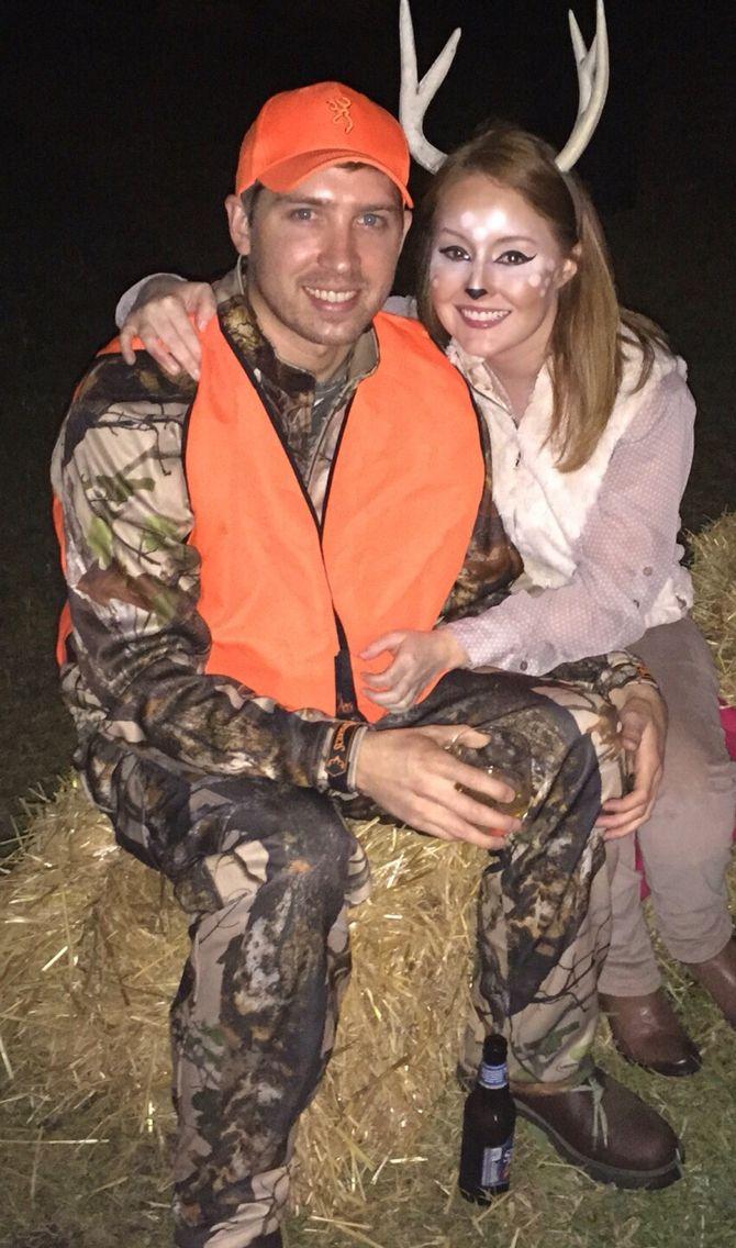 Couples Costume Halloween Deer Costume Hunter Costume | halloween ...