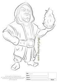 Resultado De Imagem Para Como Desenhar Mago Do Clash Of Clans