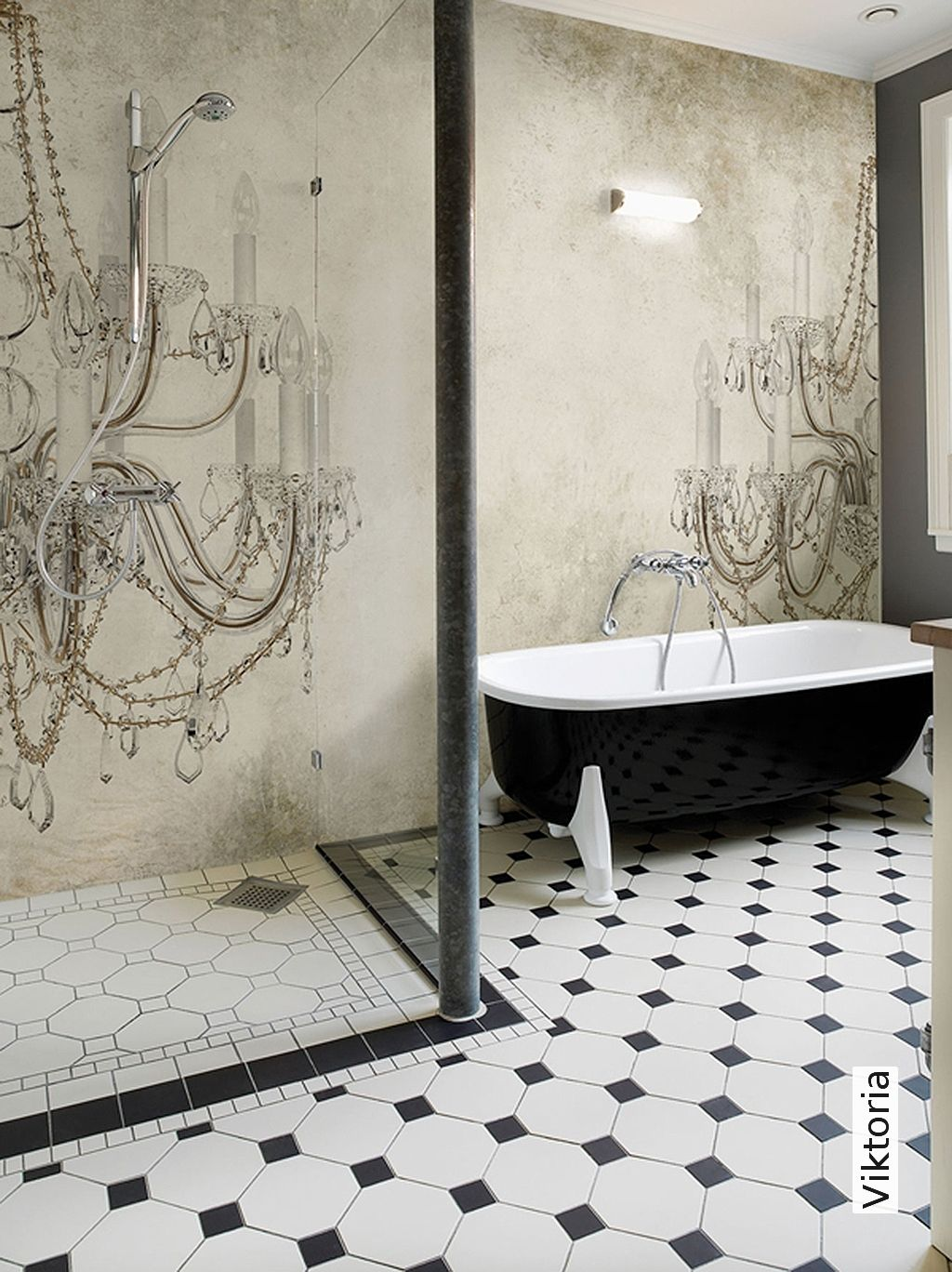 Viktoria | Tapete im Badezimmer | Pinterest | Tapeten, Bad und ...