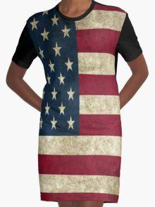 USA Graphic T-Shirt Dress