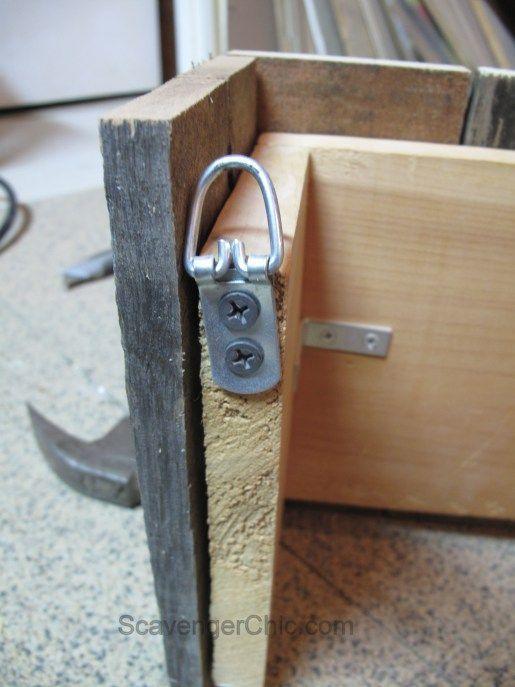 www.kitchenstylei… Easy Pallet Wood Valence diy | Wood ...