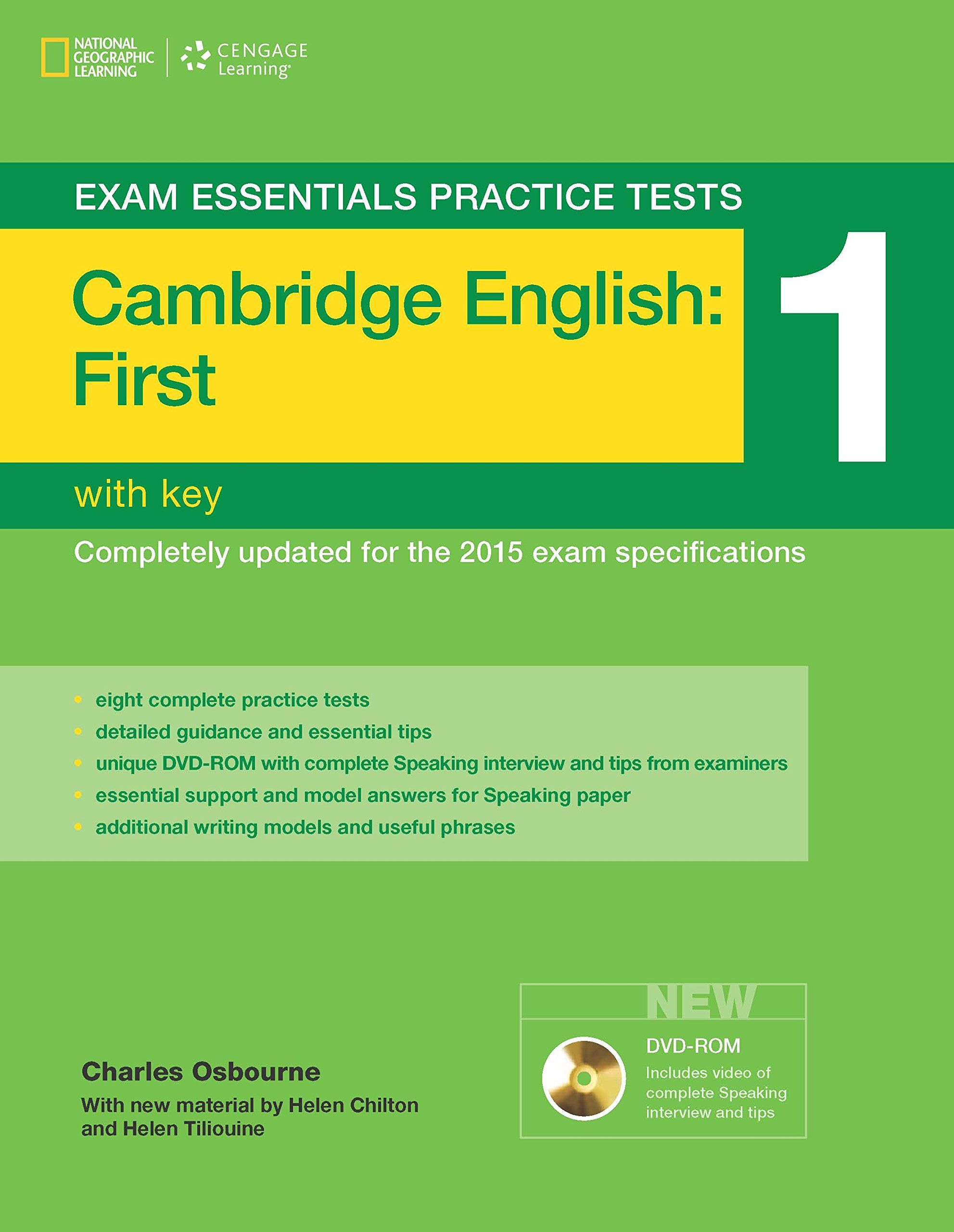 Cambridge english first fce with key charles osbourne cambridge first certificate practice tests 2 answers yelopaper Image collections