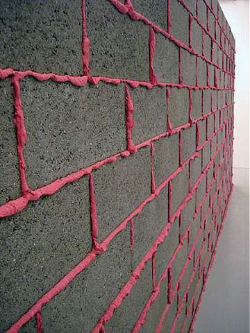 Pin By Mivima Studio On Building Materials On The Walls Floor Ceilings Cinder Block Walls Block Wall Coloured Grout