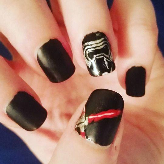 Bizarreobsessions Star Wars Nails Nails Nail Art Disney