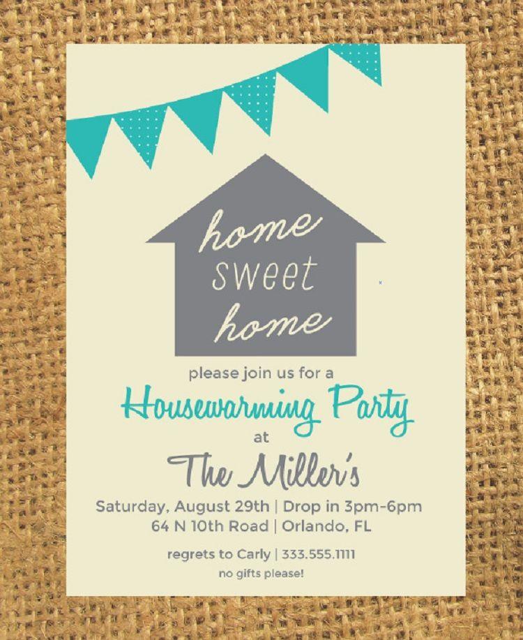 Housewarming party invitations template  invitation card ideas also rh pinterest