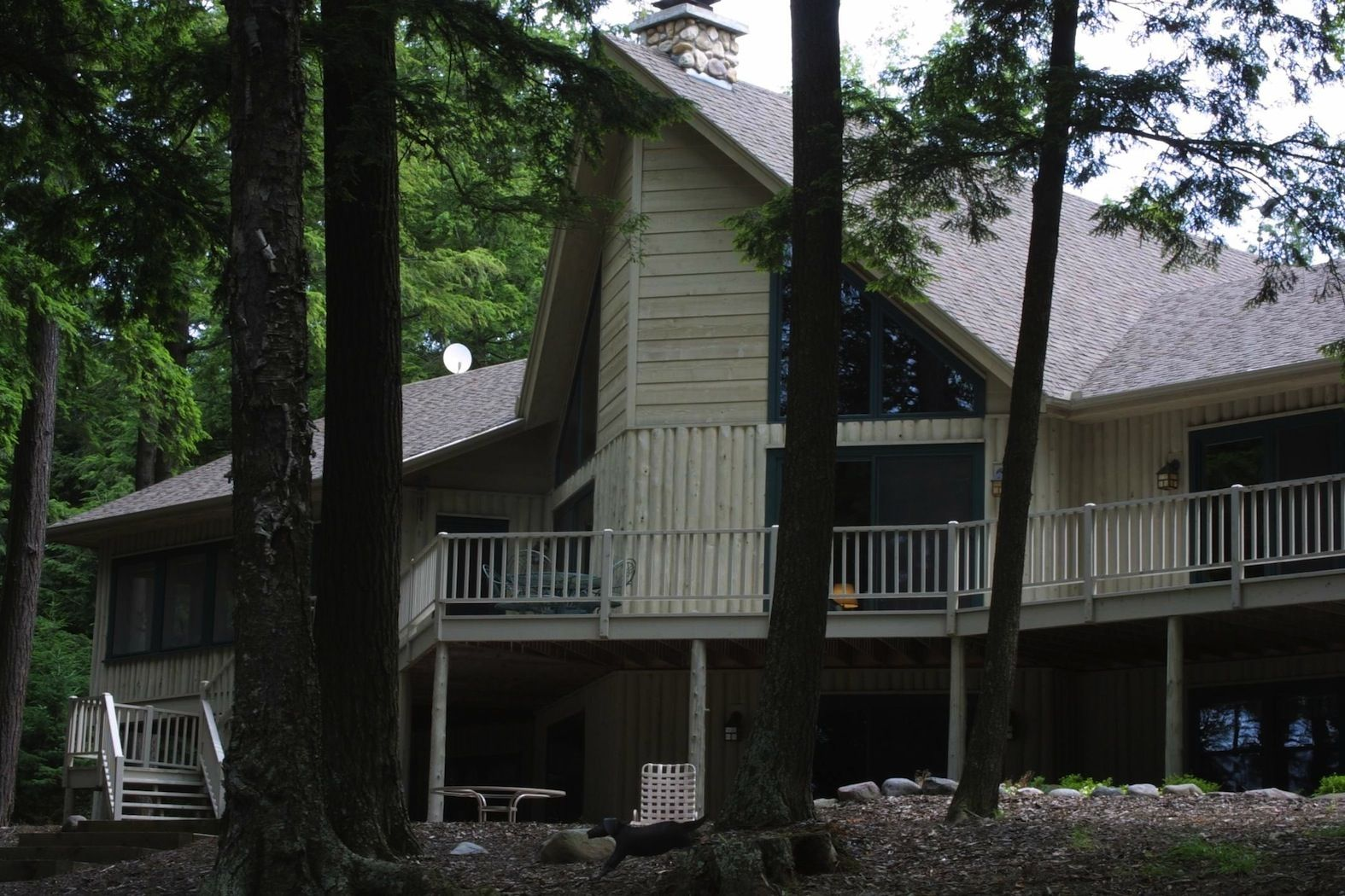 During the design phase of this home, the homeowner wanted to have the efficiency and durability of a stick framed home while giving the home a vertical log appearance, which was popular in the early 1900's. We accomplished this and really enjoyed working with the homeowner through the whole process.