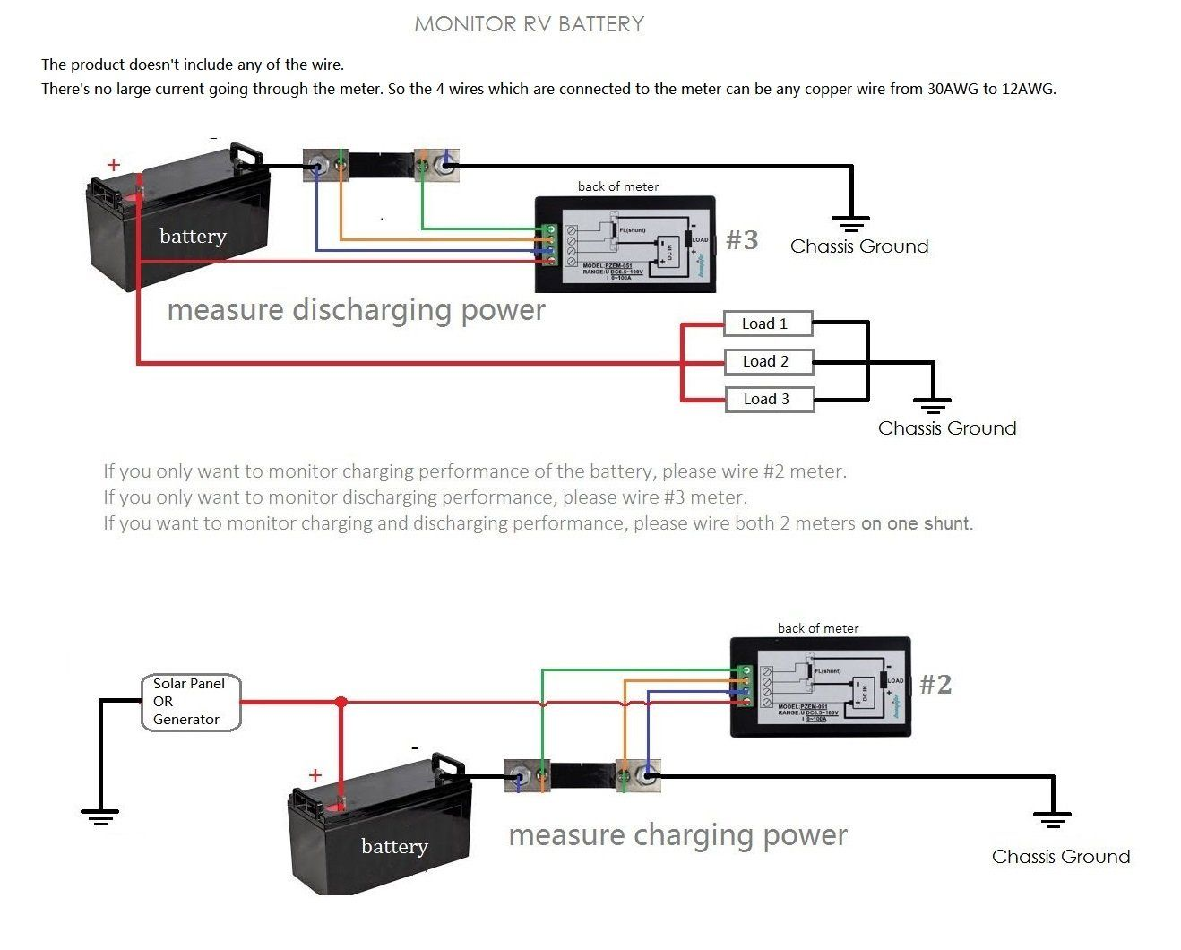 medium resolution of bayite dc 6 5100v 0100a lcd display digital current voltage power energy meter multimeter ammeter voltmeter