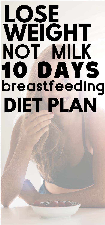 Diät während des Stillens Abnehmen Bauch