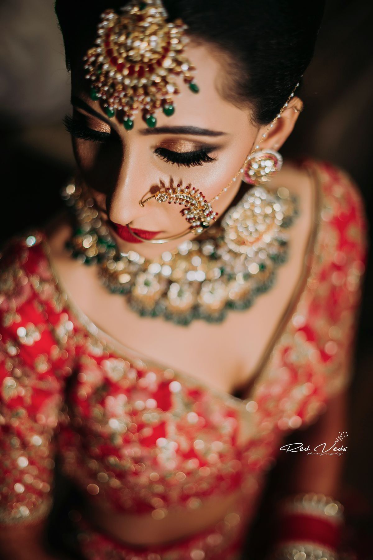 Bridal portrait photography is such a great way to make