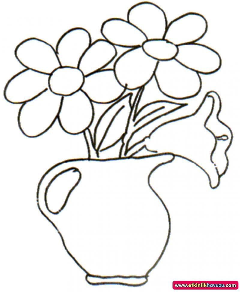 çiçek Boyama Resimleri Googleda Ara Embroidery Patterns And