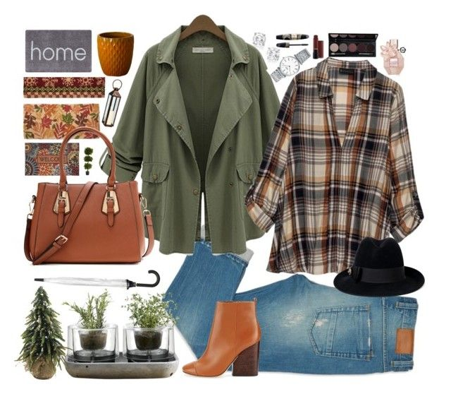 """""""pumpkin flavour"""" by annna-98 ❤ liked on Polyvore featuring Chicnova Fashion, Bobeau, Nude, Longines, Kate Spade, Doormat Designs, Nearly Natural, Cambridge, Max Factor and Viktor & Rolf"""