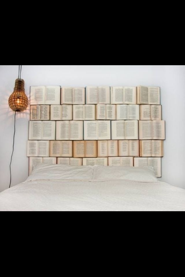 Pin by Katie Snee on My Favorite | Book headboard, Diy ...