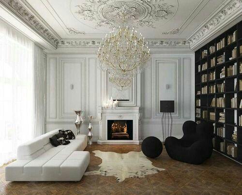 Black and white room pinterest