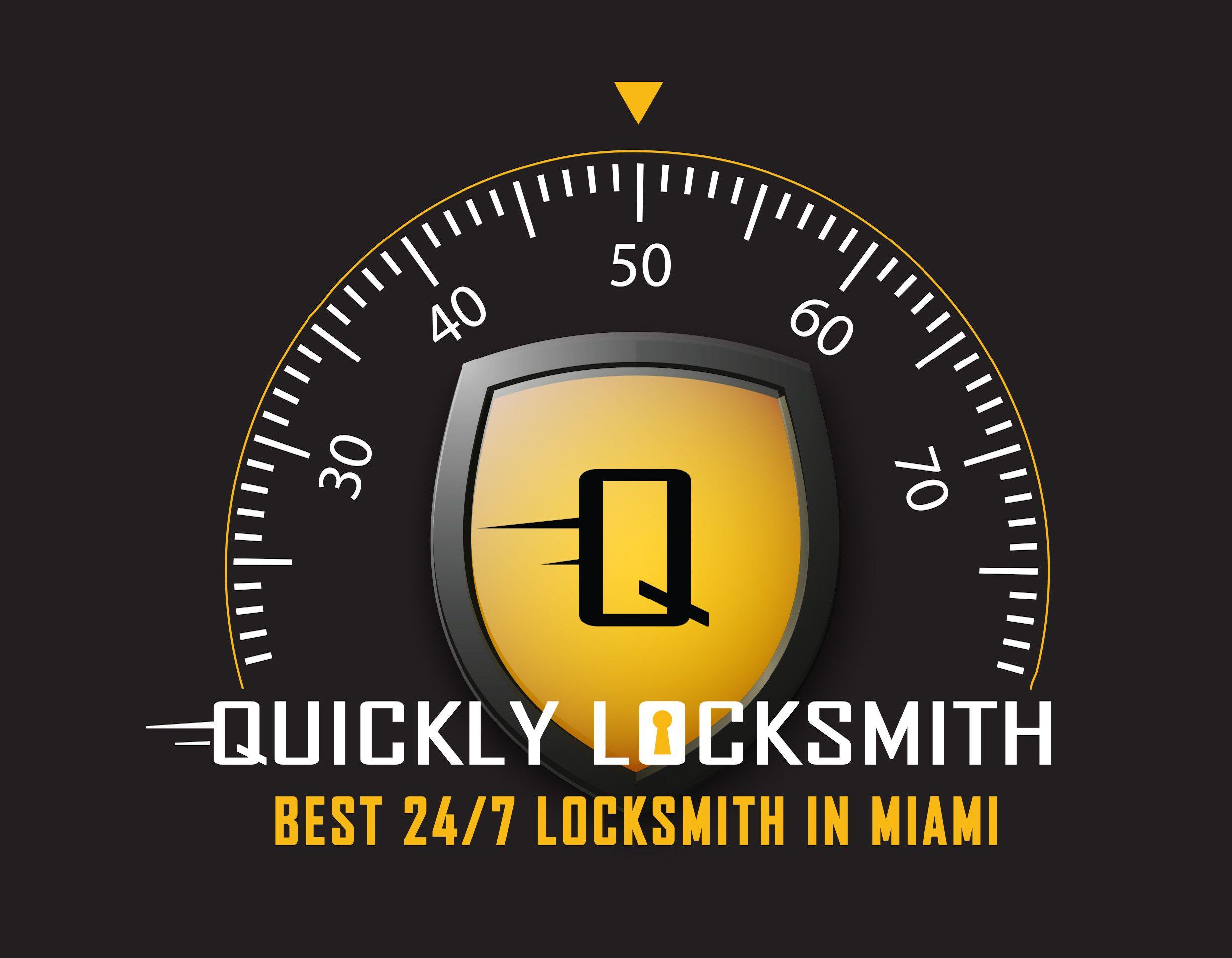 Quickly Locksmith Miami Logo Miami logo, Locksmith
