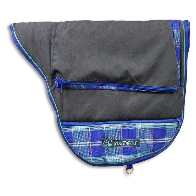 Kensington Protective Products Signature Dressage Saddle Carrier Blue Ice - KDCB141