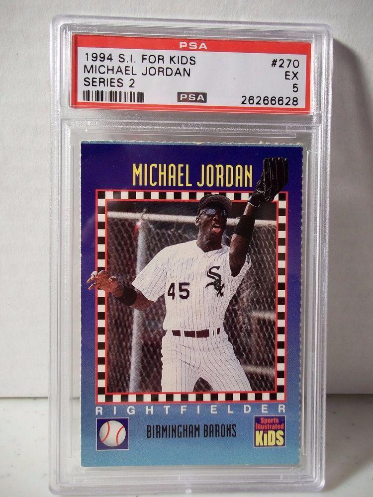 1994 Si For Kids Michael Jordan Psa Ex 5 Baseball Card 270 Series