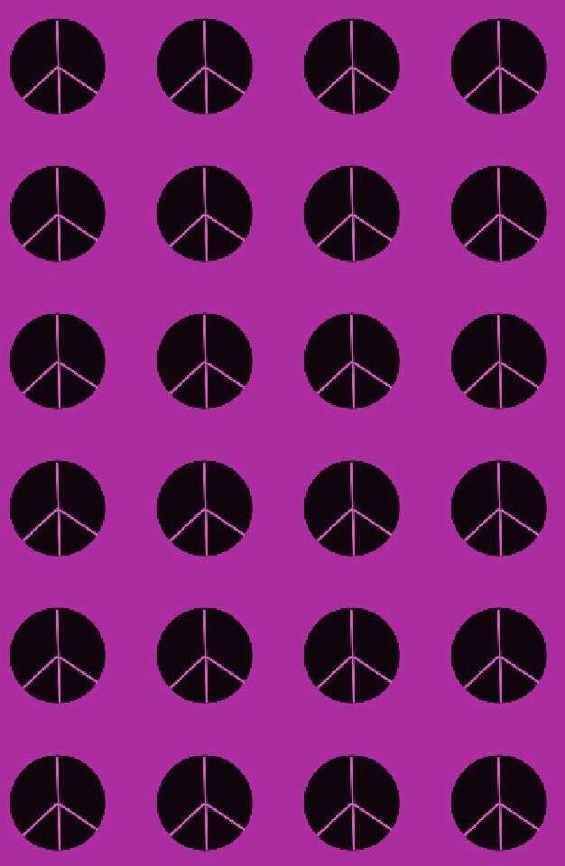 Black and purple peace signs | Peace sign, Peace, Purple ...