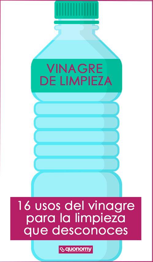 Cómo usar el vinagre para la limpieza. 16 usos del vinagre que desconoces