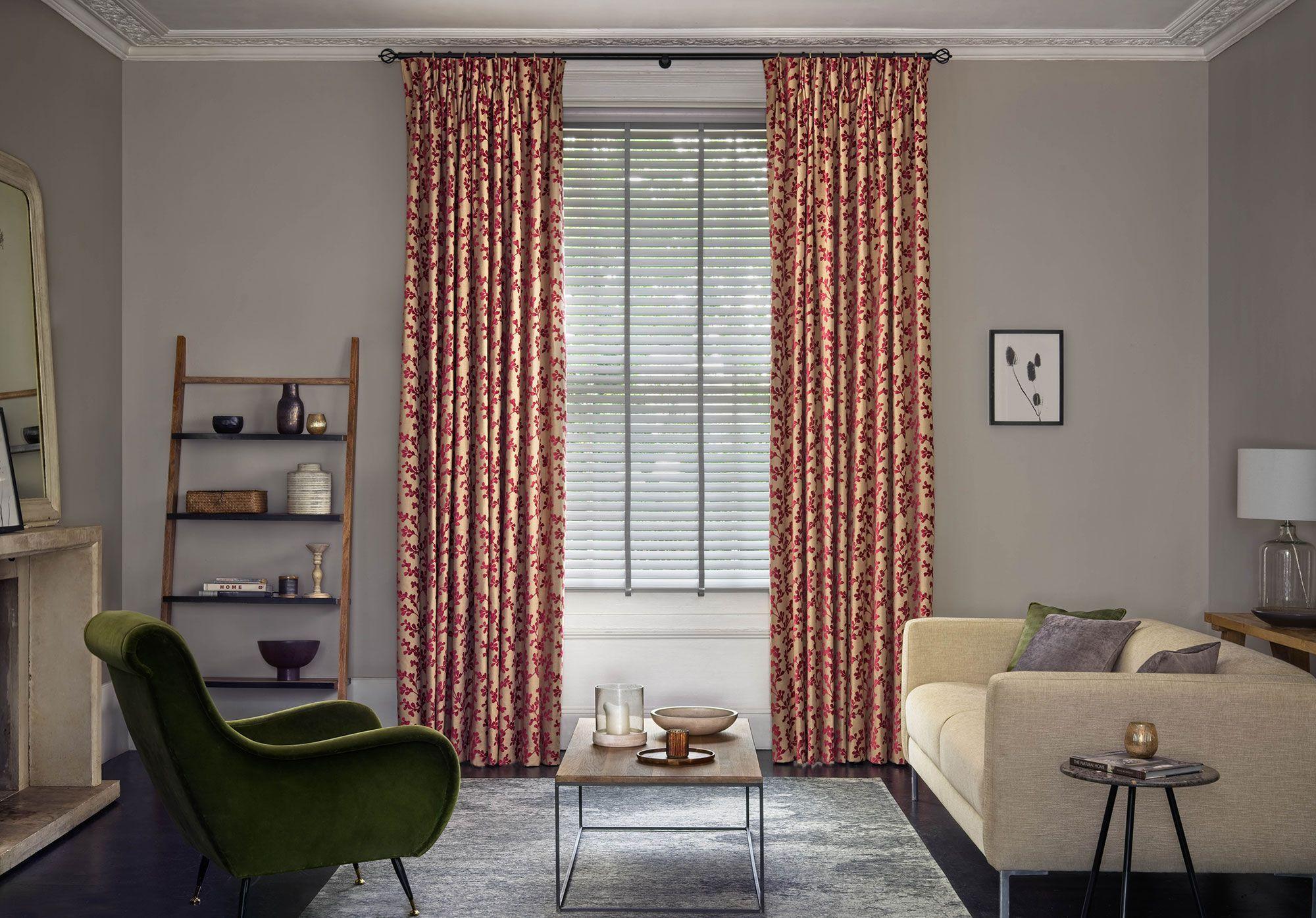 Bay window curtain ideas hillarys in 2020 living room