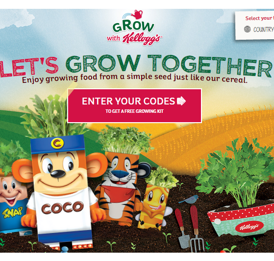 Free kellogs growing kits gratisfaction uk freebies freebies claim yourself or your children some free kellogs growing kits by purchasing certain cereal and entering the code by clicking the get freebie button solutioingenieria Choice Image